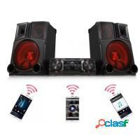 MINI SYSTEM LG RedParty 2600W RMS DJ, USB REC, Blu