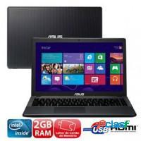 NOTEBOOK ASUS INTEL DUAL CORE 2GB RAM HD 320GB WIF