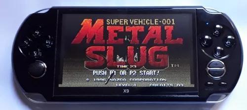 Video Game X9 Tela 5 Jogo Game Boy Advance Nes Snes Mega Ps1