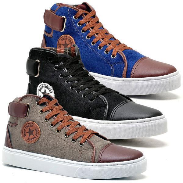 kit 3 calçados de alto padraon de qualidade varias cores