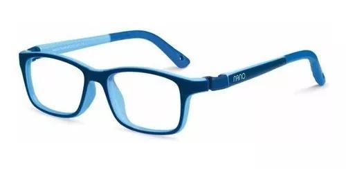 Armação Oculos Infantil Nano Vista Crew Nao571646 8 A 12