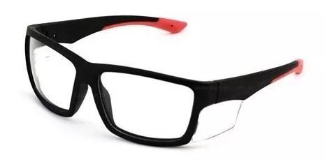 Armação Óculos Segurança Ssrx Ideal Para Lentes De Grau