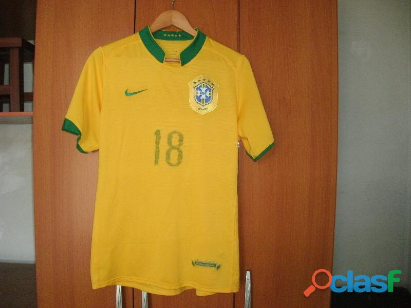 Camisa da Seleção Brasileira de Futebol Robinho Bom Estado