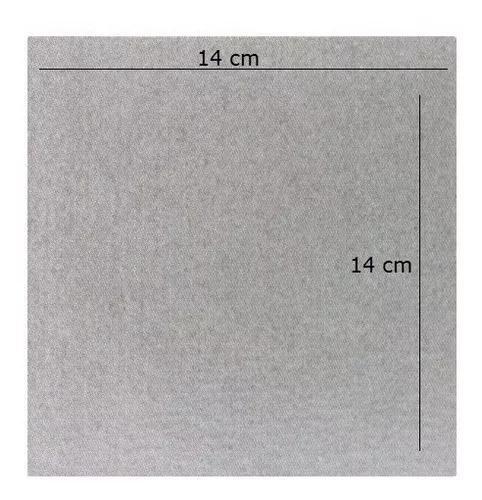 Placa De Mica Guia De Onda Para Forno Microondas 14 X 14 Cm