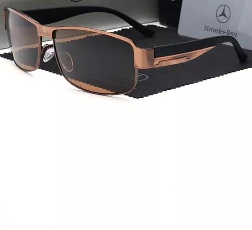 culos De Sol Masculino Polarizado Mercedes Benz 48 Uv400