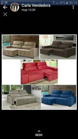 Sofa cama Retrátil e reclinável ultimas unidades
