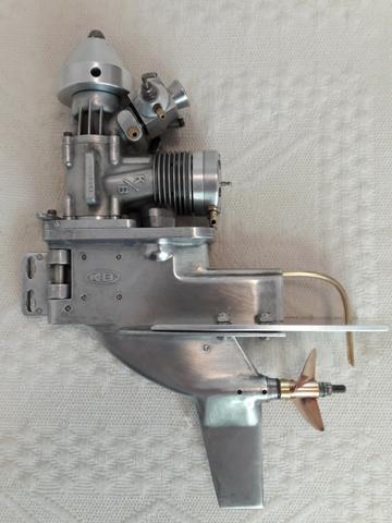 Motor Rabeta K&b 7.5 para Lancha ou Barco Nautimodelismo