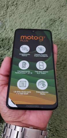 Motorola Moto G7 plus novo sem uso