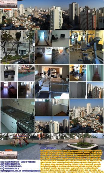 Apartamento de 2 Dormitórios e 1 Vaga na Vila Clementino
