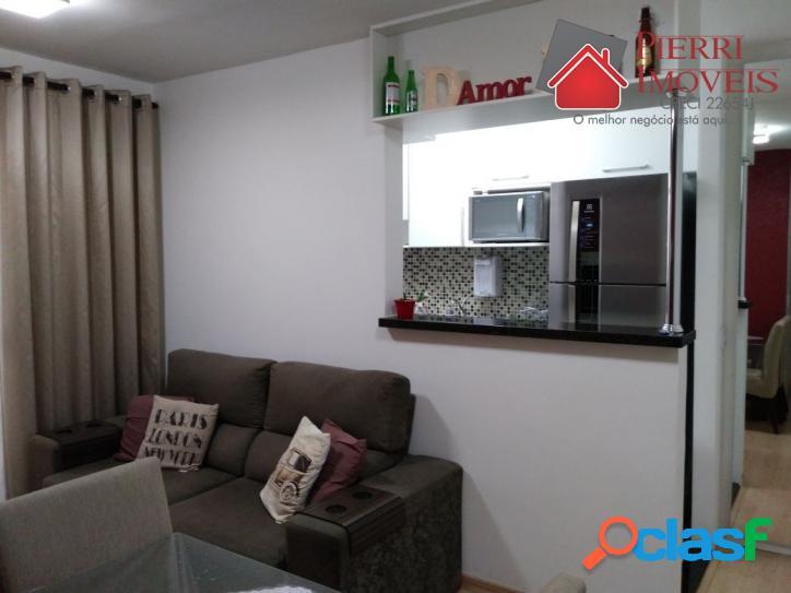 Apartamento venda Jd Irís no Liber Bosque 2 dorms mobiliad