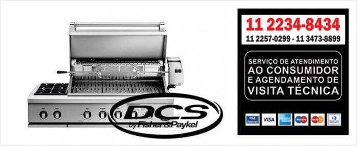 Assistência Técnica Grill DCS