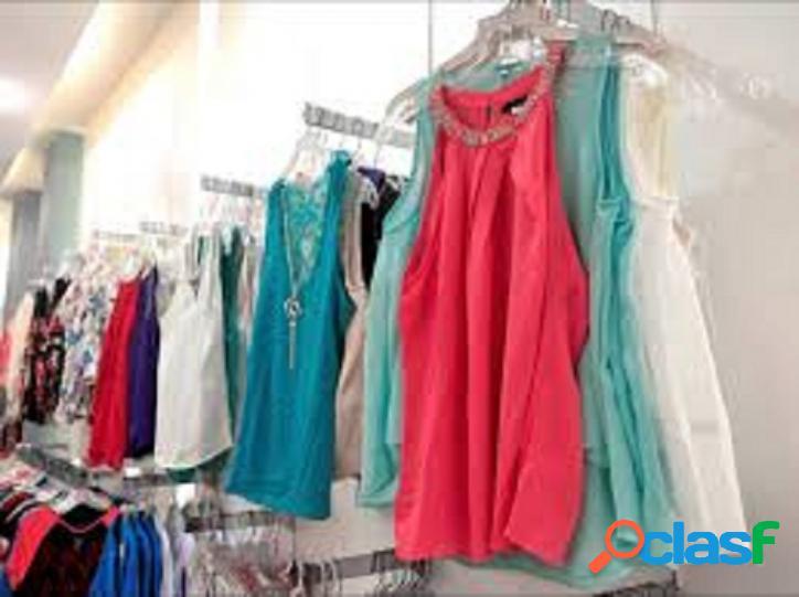 MRS Negócios - Vende Loja de roupas (M/F) Centro