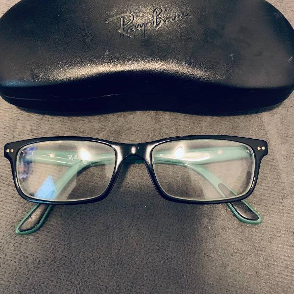 armação óculos de grau ray ban