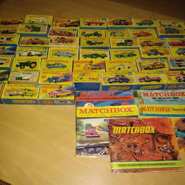 coleção matchbox anos 60 e 70 na escala 1/64