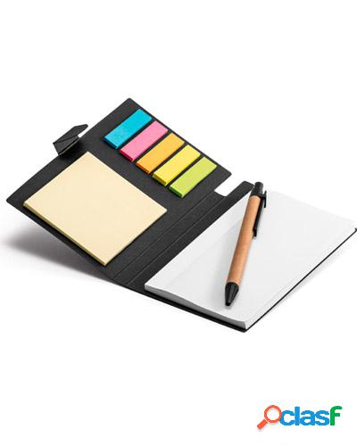 kit bloco e caneta personalizado