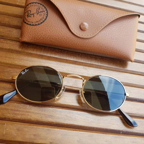 ray ban round oval