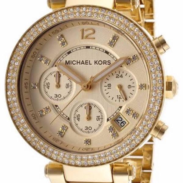 relógio michael kors original dourado
