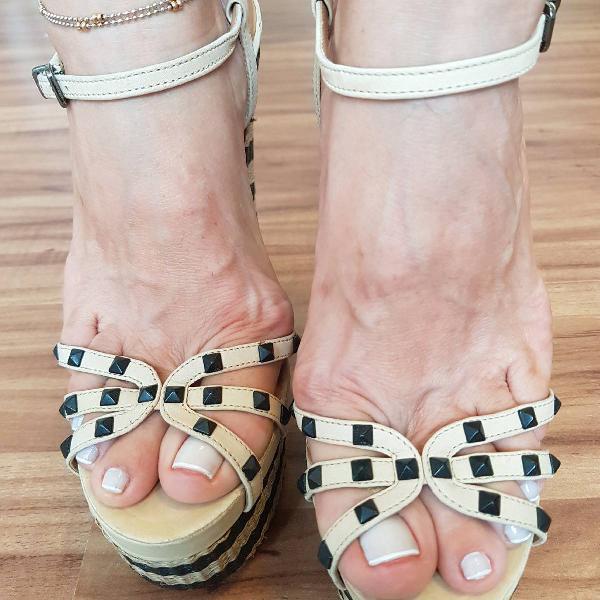 sandália meia pata schultz