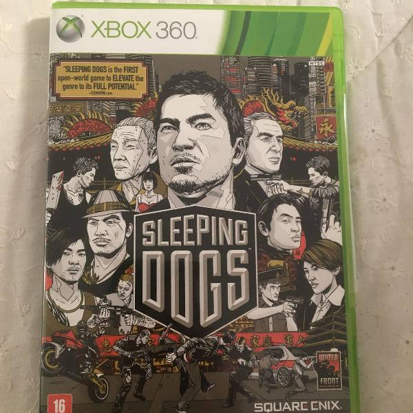 sleeping dogs para xbox 360 novo na caixa