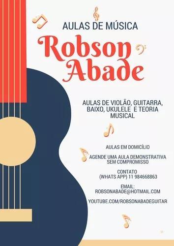 Aulas De Violão E Guitarra, Baixo E Ukelele
