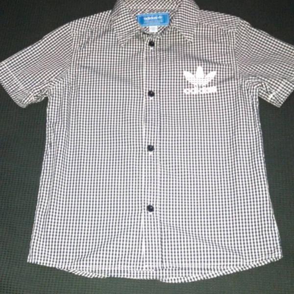 Camisa Xadrez Adidas Originals