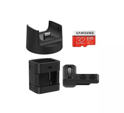 Dji Osmo Pocket Kit Com Módulo Wireless, Controle, Suporte