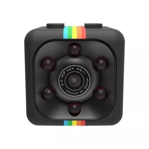 Mini Camera Espiã Sq11 Visão Noturna