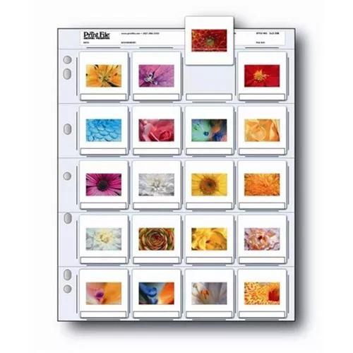 Print File 35mm Porta Negativos E Slides Folha Plástica 2x2