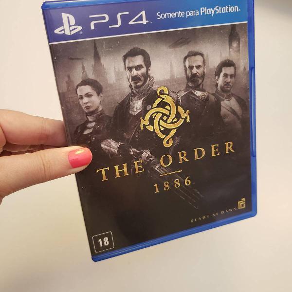 jogo the order 1886 ps4 mídia física