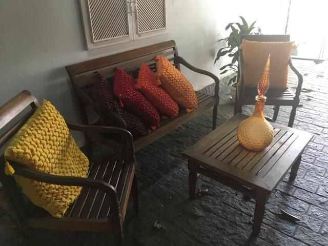 Conjunto de varanda