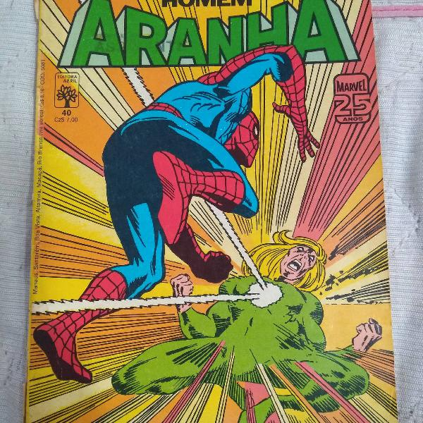 Hq homem aranha, Marvel 25 anos, A maldição do fogo-fátuo
