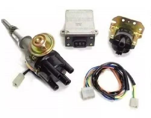 Kit Ignição Eletrônica Opala 4cc Cilindros Novo Completo