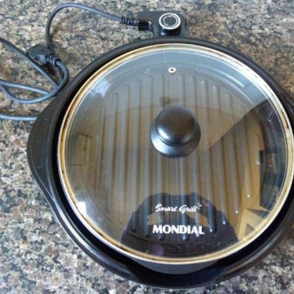 Smart grill redondo Mondial