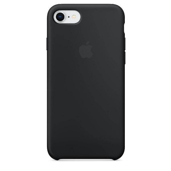 capa de silicone para iphone 8 e 7 preta