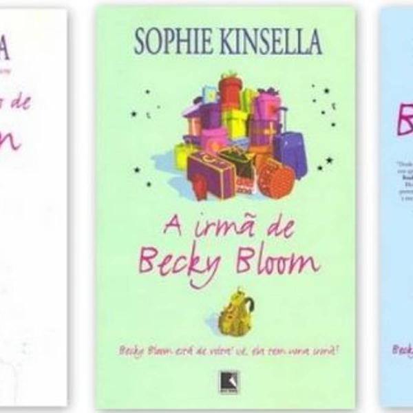 coleção livros becky bloom (sem o primeiro livro da