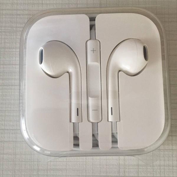 earpods - fone de ouvido apple original (nunca usado)