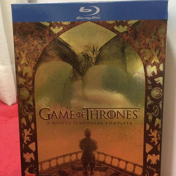 "game of thrones"" 5ª temporada blu-ray"