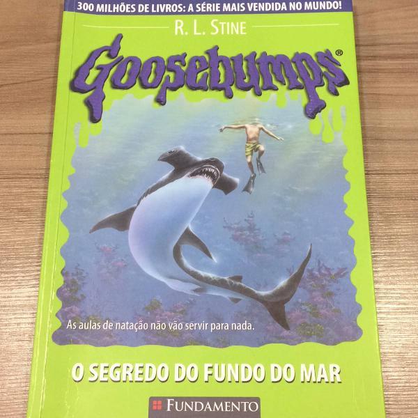 livro goosebumps o segredo do fundo do mar