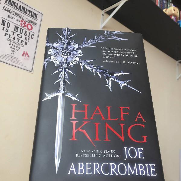 livro - half a king (capa dura/lacrado)