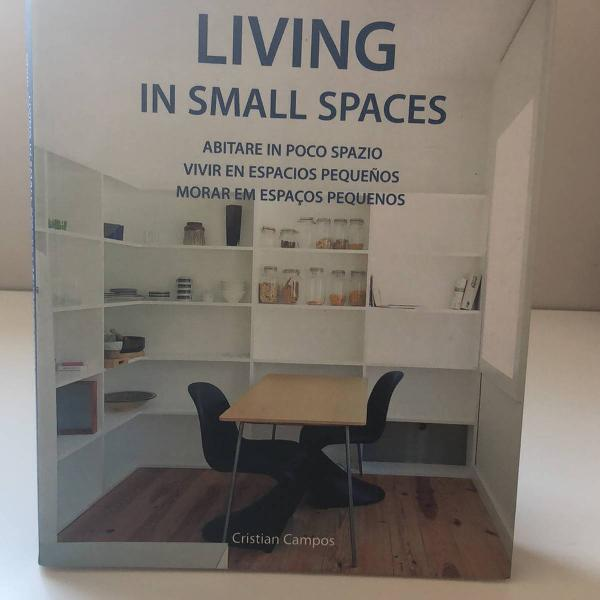 livro living in small spaces