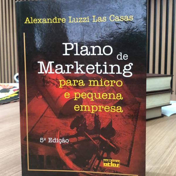 livro plano de marketing para micro e pequenas empresas -