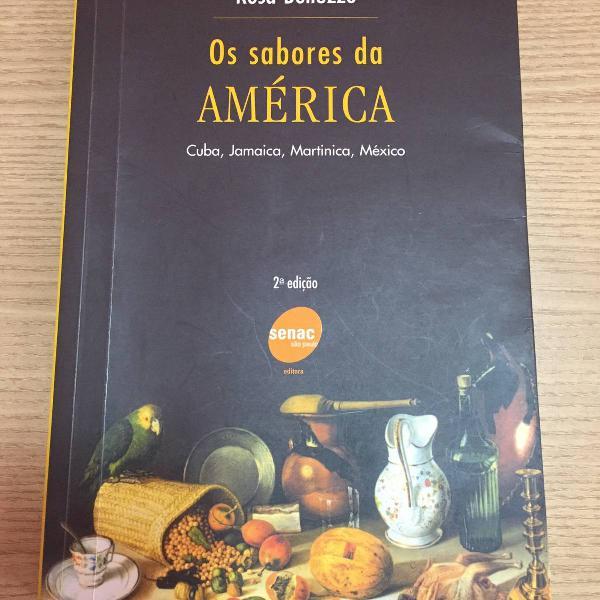 livro sabores da américa