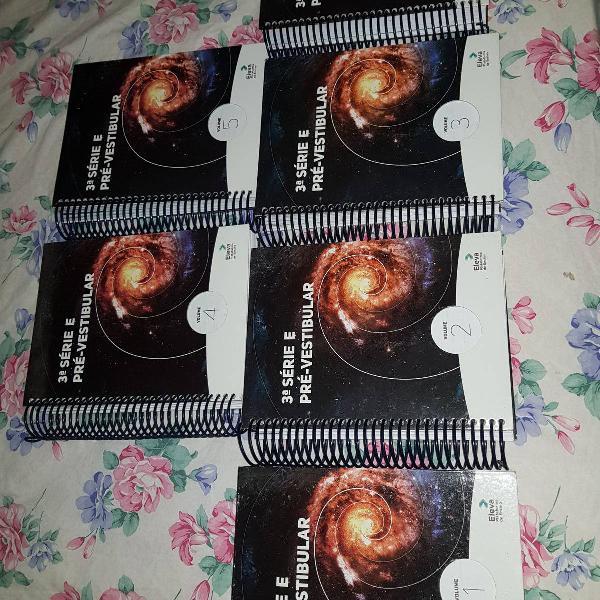 livros preparatorio vestibular/enem