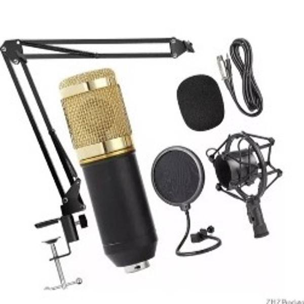microfone profissional condensador bm800