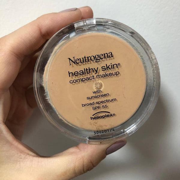neutrogena compact make up tipo pancake nova usei 1x para
