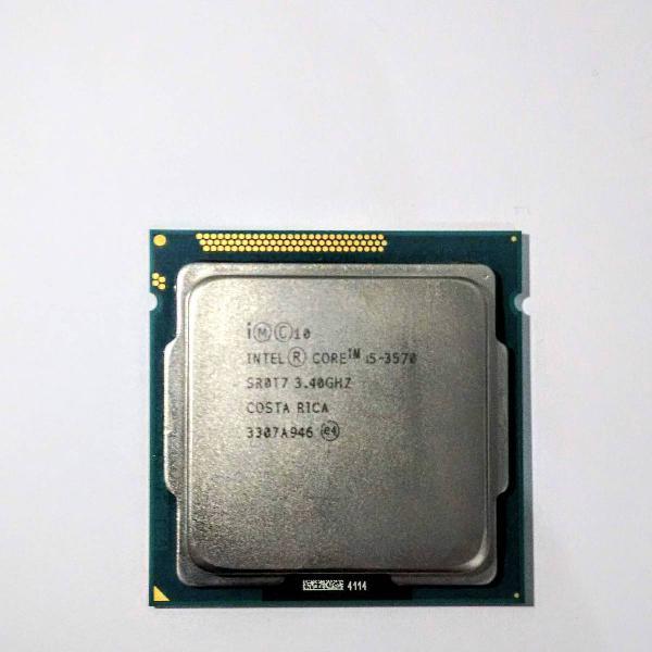 processador intel core i5 3570 3.4ghz- turbo max 3.8ghz