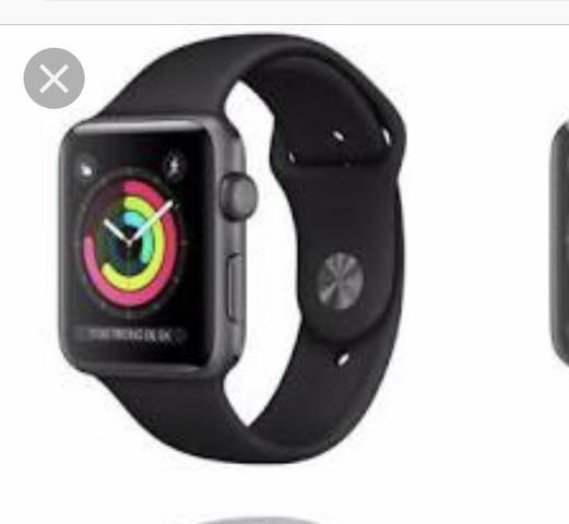 Apple Watch série 3 42mm gps preto novo lacrado