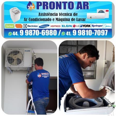 Assistência Técnica em Ar condicionado split e maquinas de
