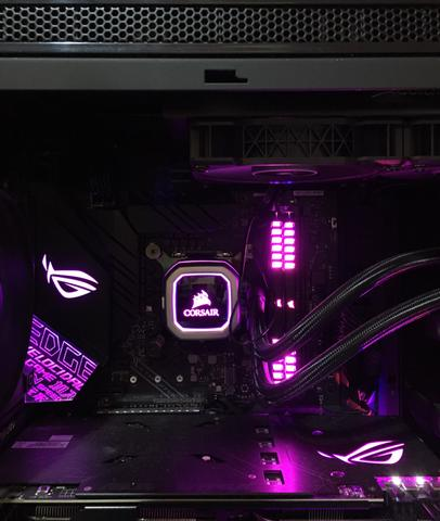 Kit 9 geração Processador/memória/waterCooler/Placa mãe