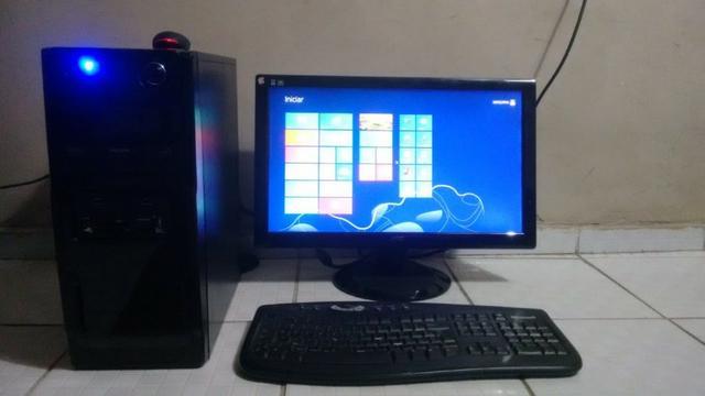 Pc game 4 dd hd +monitor 22 polegadas